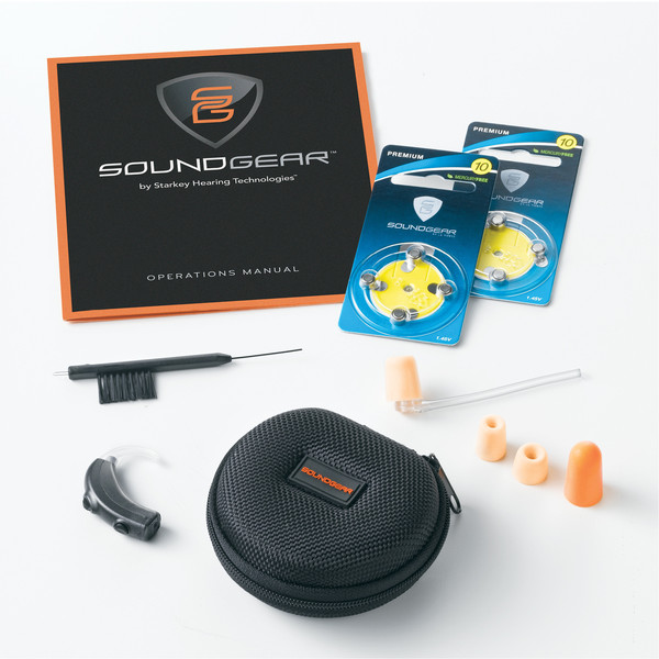 SoundGear Behind-The-Ear Electronic Hearing Protection -- 4 Volume Levels