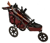 Rugged Gear 3-Gun Competition Shooting Cart Combo Package