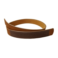 Wild Hare Buckle-less Leather Belt  belt, leather, velcro belt, buckleless, pouch