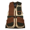 Wild Hare Heatwave Mesh Vest -- Forest Green & Brown