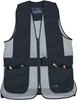 Wild Hare Primer Mesh Vest, Black/Silver - Ambidextrous Shooting Pad