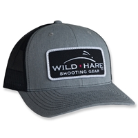 Wild Hare Shooting Gear Patch Hat With Mesh Richardson Snap Back  Wild hare hat, wild hare shooting gear hat, shooting hat